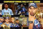 Rohit Sharma Timeline