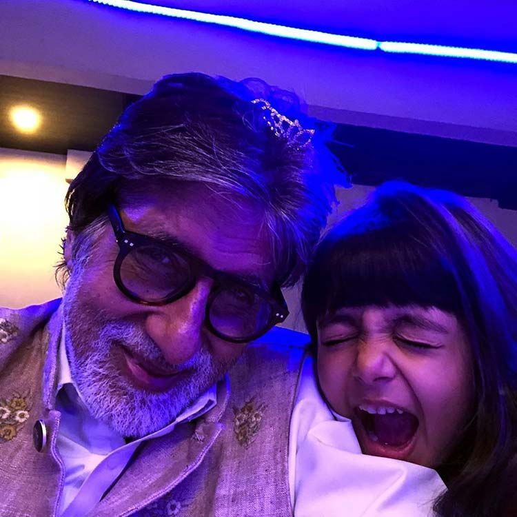 Amitabh Bachchan had the cutest start to 2018