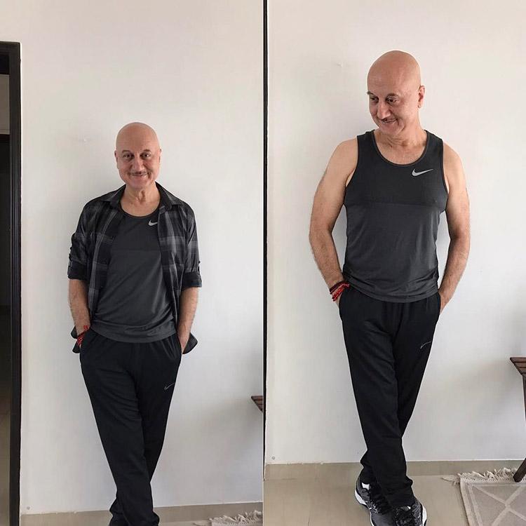 Anupam Kher's fabulous weight loss