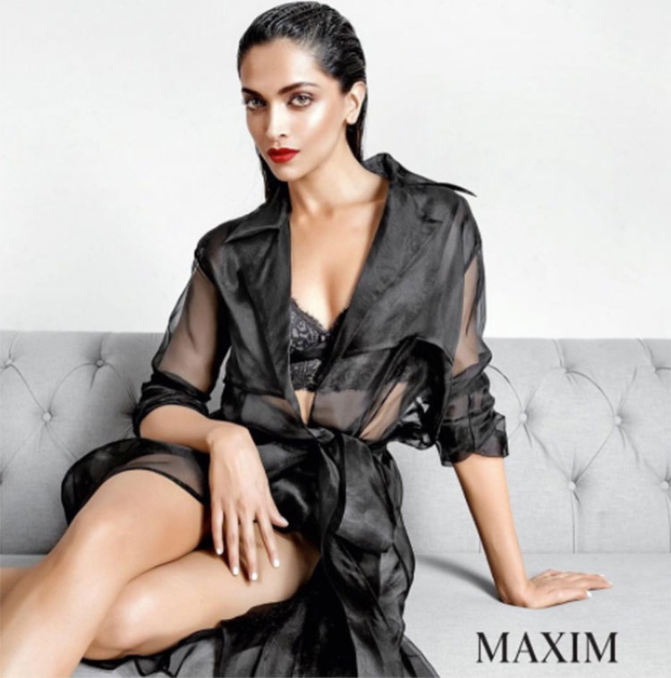 Deepika Padukone's sizzling hot Maxim photo shoot