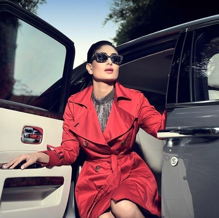Kareena Kapoor looks magnanimously hot in red