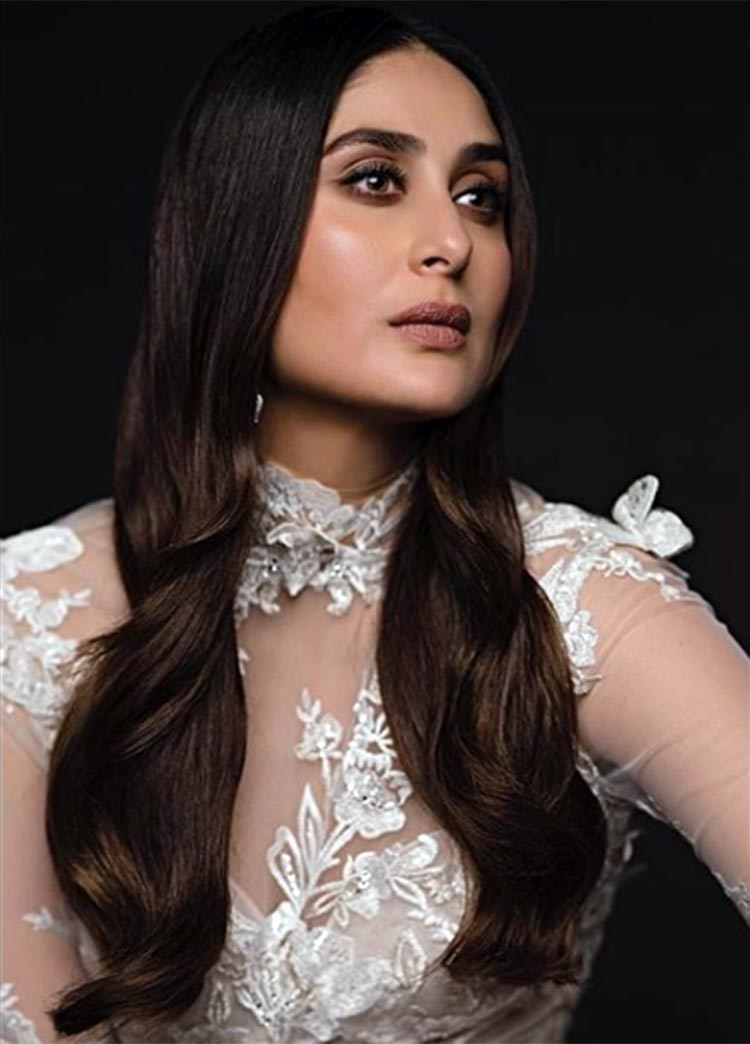 Kareena Kapoor looks sexy in this sheer white gown