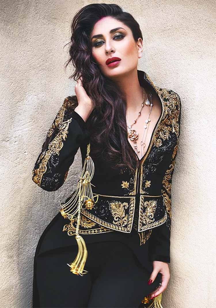 Kareena Kapoor looks super sexy in black