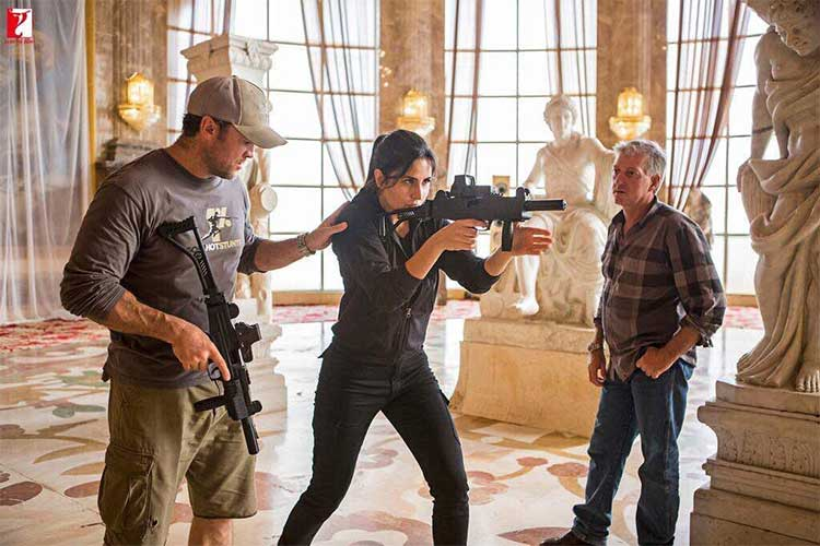 Katrina Kaif trains under Dark Knight action director on sets of Tiger Zinda Hai