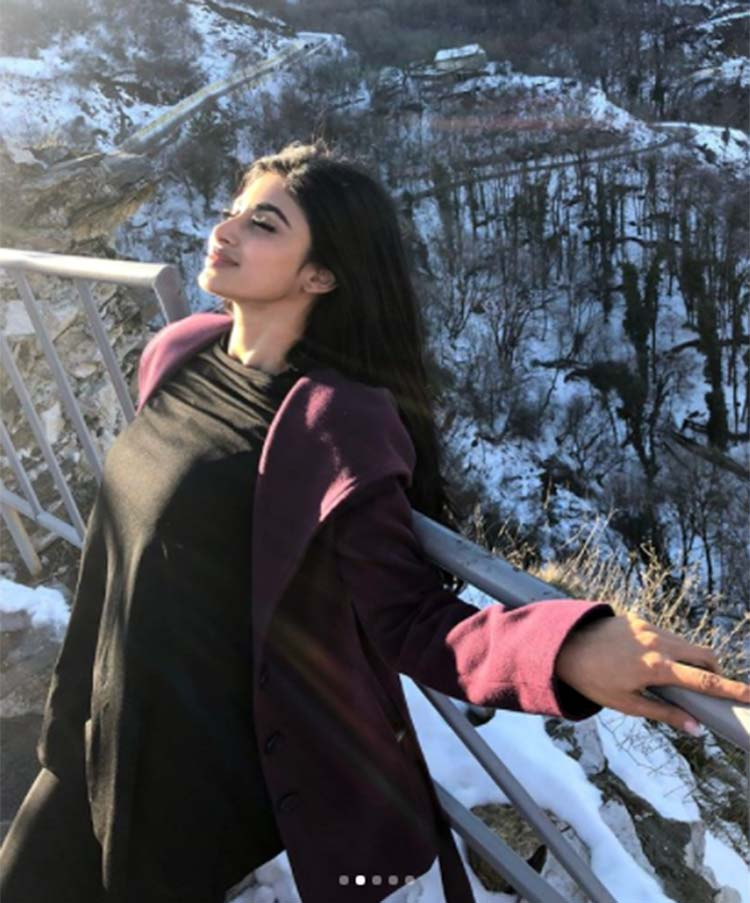 Mouni Roy soaking in the Bulgaria sun
