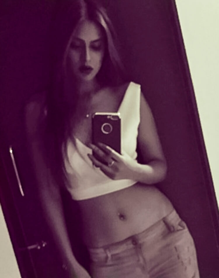 Nia Sharma spells out sexy word to word