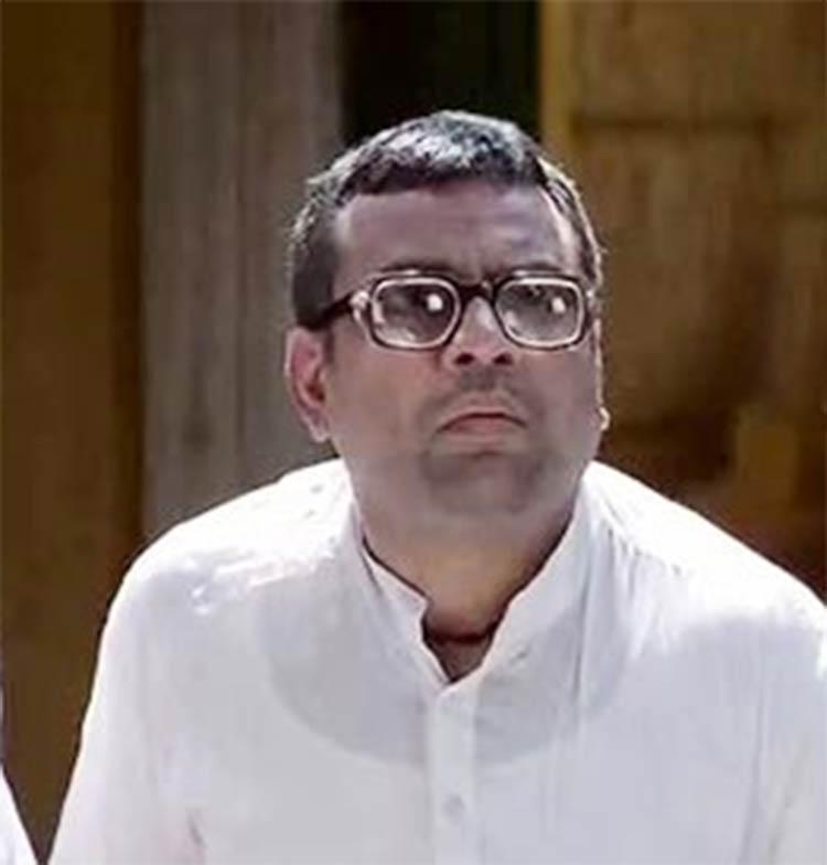 Paresh Rawal's Babu Bhaiya from Hera Pheri