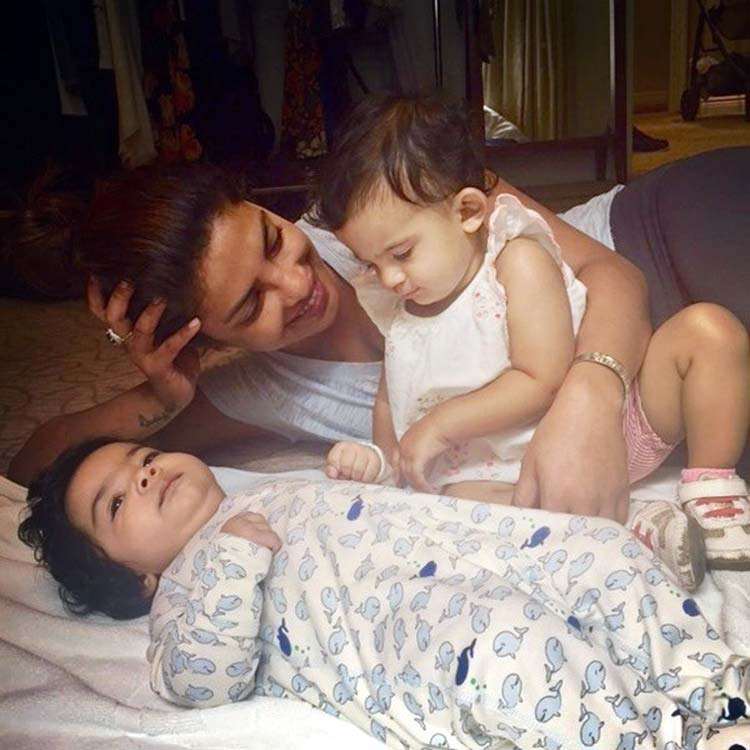 Priyanka Chopra spending some personal time with her nieces
