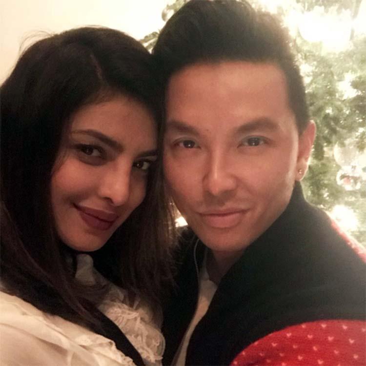 Priyanka Chopra's December selfie with Prabal Gurung