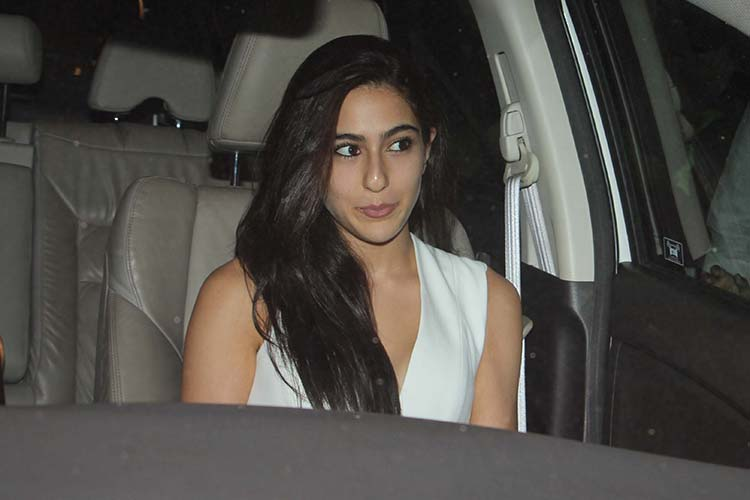 Sara Ali Khan at Karan Johar's birthday bash