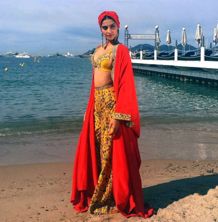 Sonam Kapoor smolders with her wild side at Cannes film festival