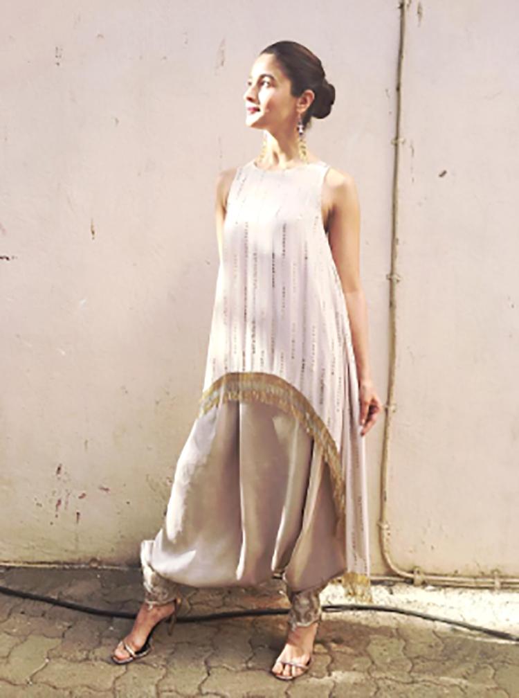 Alia Bhatt has an eccentric style sense