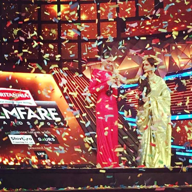 Deepika Padukone at 61st Filmfare Awards event