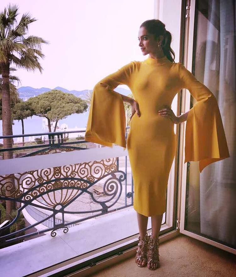 Deepika Padukone's stunning morning look from Cannes