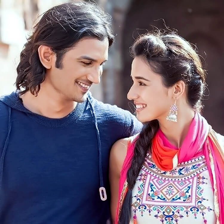 This beautiful photo of Disha Patani with Sushant Singh Rajput is the perfect Facebook DP