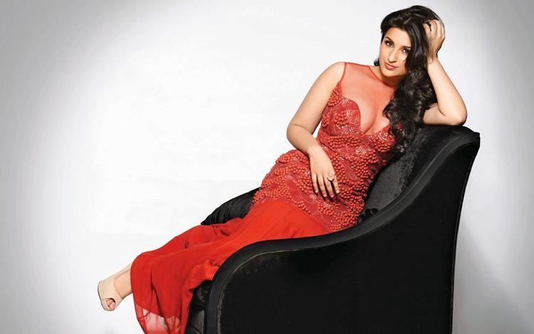 Parineeti Chopra looks scorching hot in red