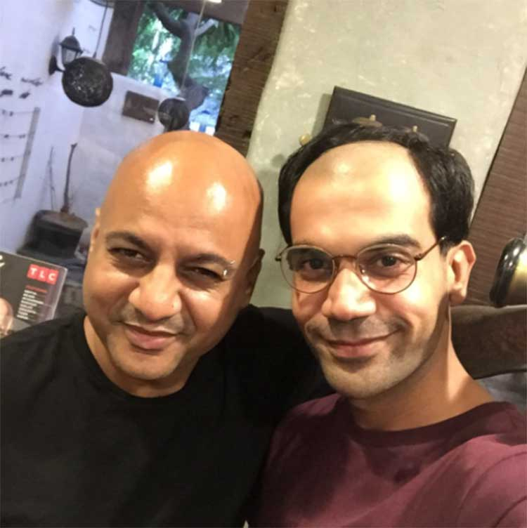 Rajkummar Rao goes half bald for Bose