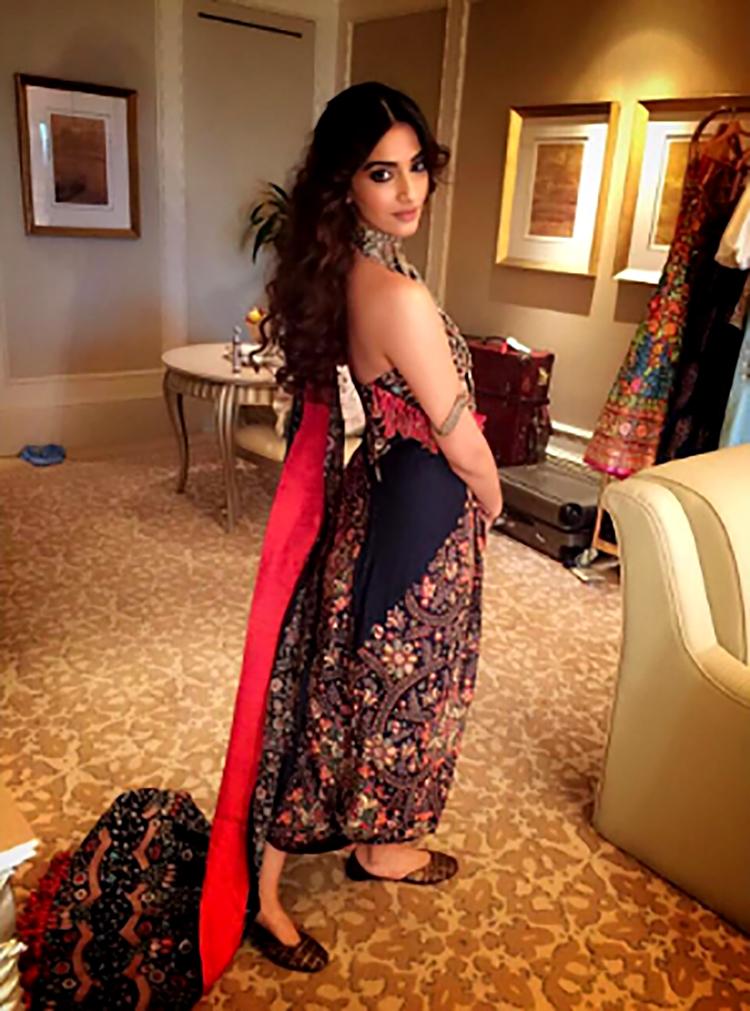 Sonam Kapoor's Instagram post from her cousin's wedding