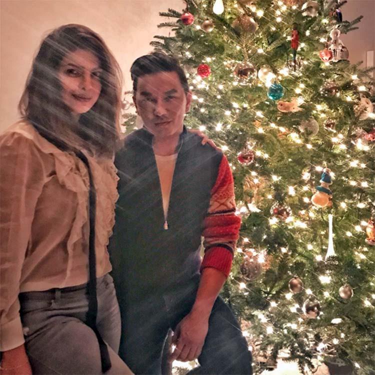 Priyanka Chopra and Prabal Gurung are Christmas ready