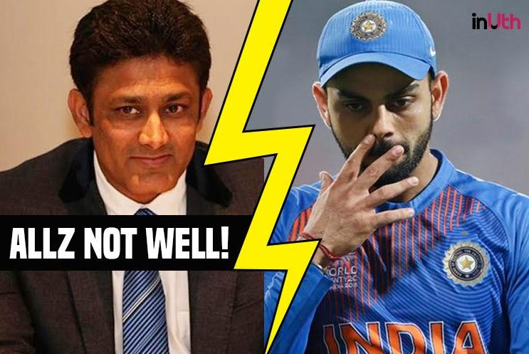 India players not happy with Kumble's coaching style