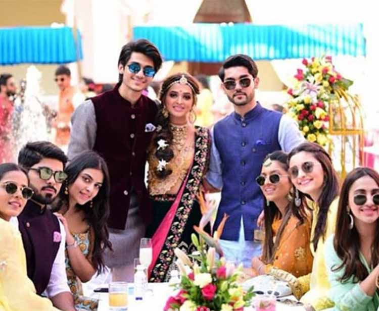 Alia Bhatt with friends at Kripa Mehta's wedding