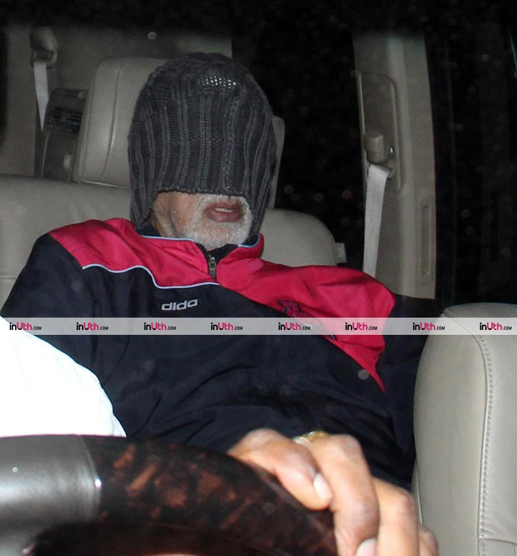 Amitabh Bachchan writes a blog about his hospital visit