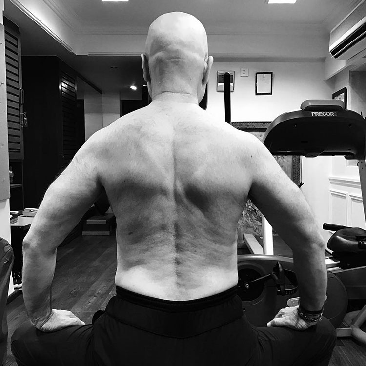 Anupam Kher is the new fitness sensation of B-town