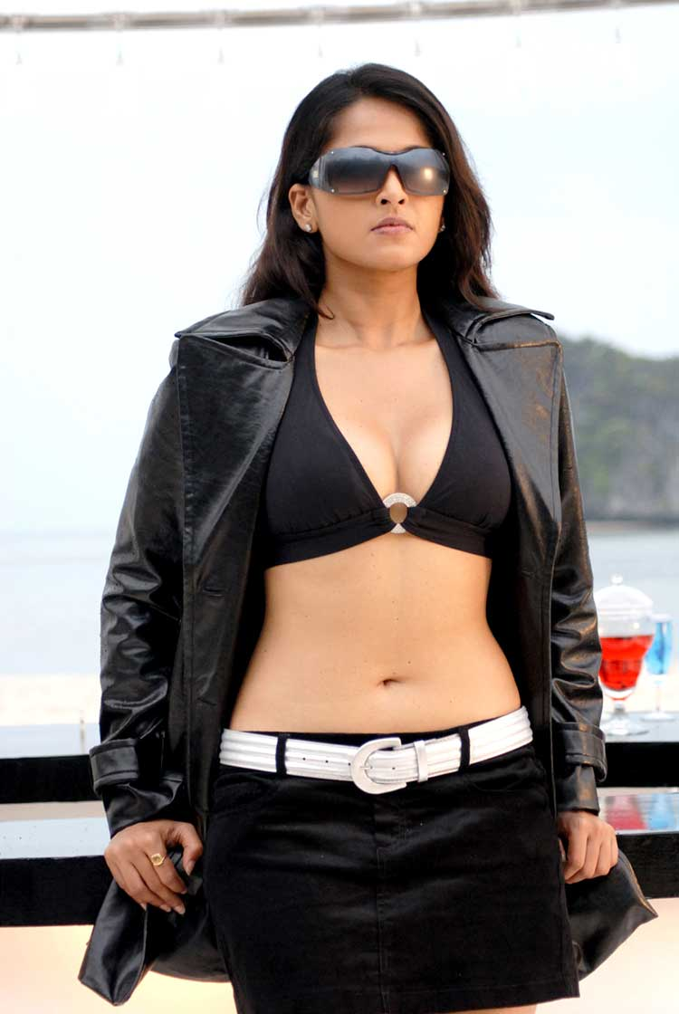 Congratulate, Anushka shetty hot in bra