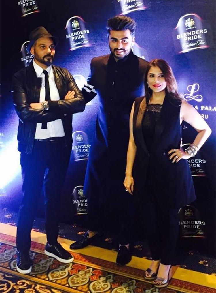 Arjun Kapoor at Blenders Pride Fashion event 2016