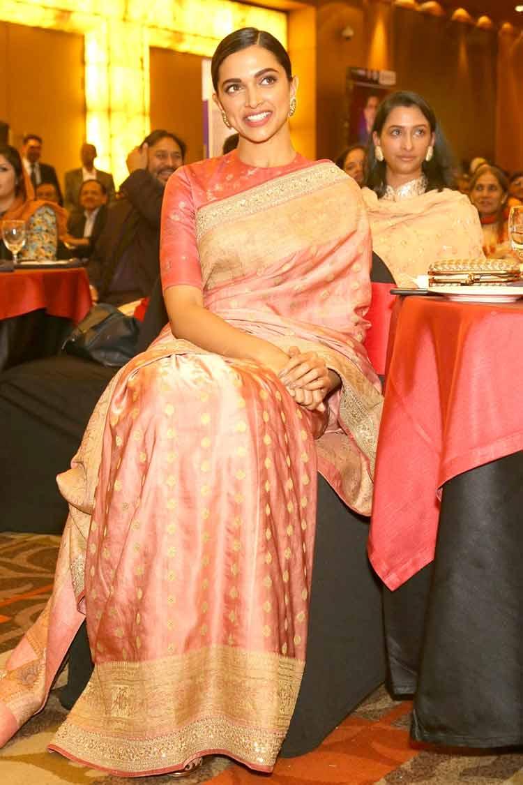 Deepika Padukone stepped in Delhi on January 29