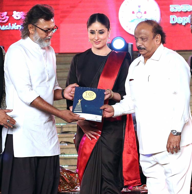 Kareena Kapoor inaugurating the Bengaluru International Film Festival 2018