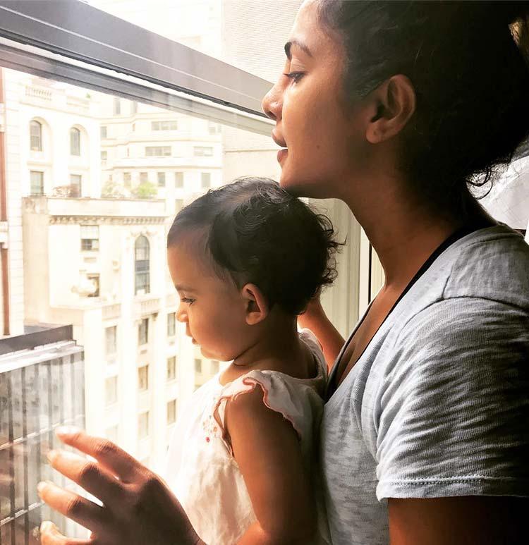 Priyanka Chopra sharing some curious times with her niece