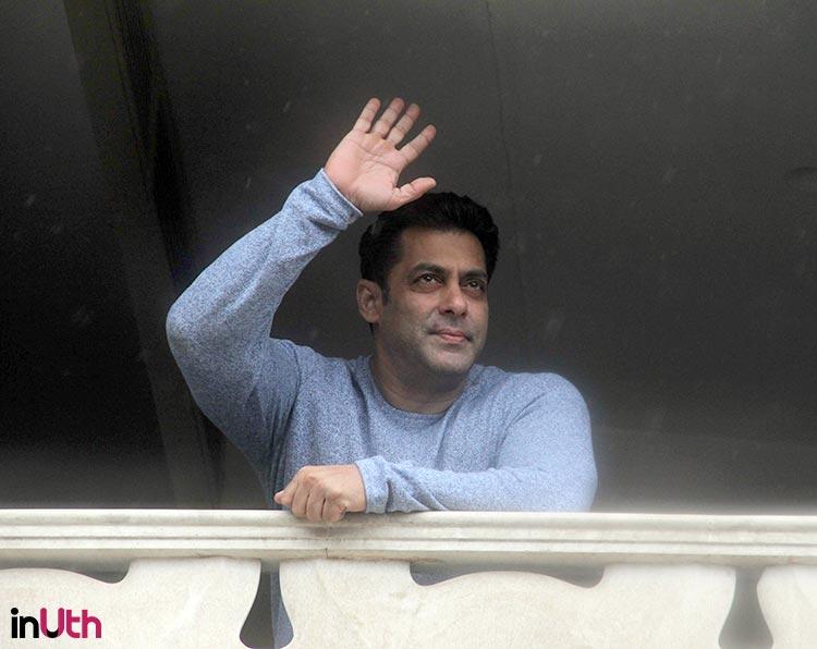 Salman Khan personally greets his fans on Eid