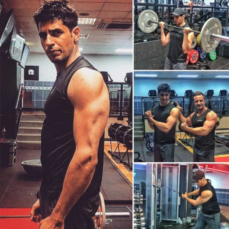 Sidharth Malhotra shares glimpses of his training on Instagram