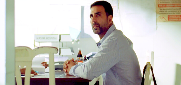 Akshay Kumar played the perfect father in Brothers