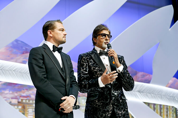 Amitabh Bachchan at Cannes Film Festival 2013 opening event