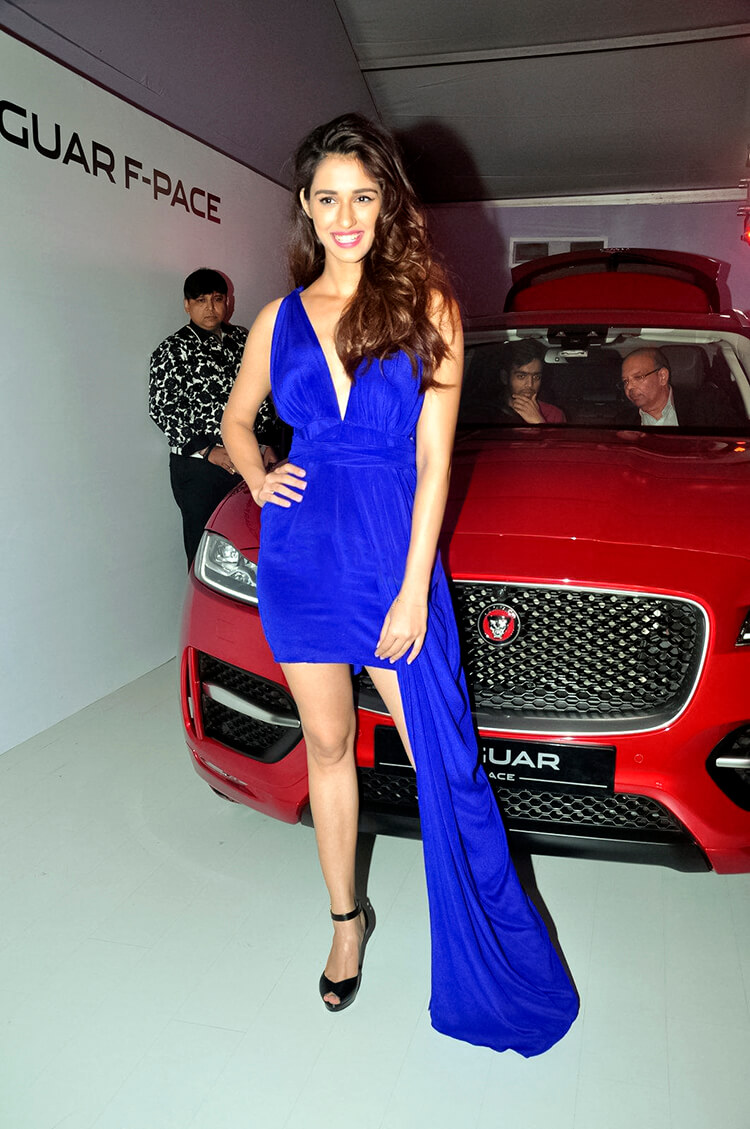 Disha Patani sizzling at the Jaguar car launch event