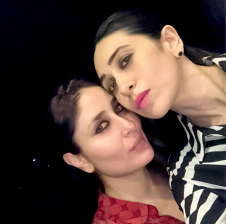 This personal photo of Kareena Kapoor with sister Karishma is adorable