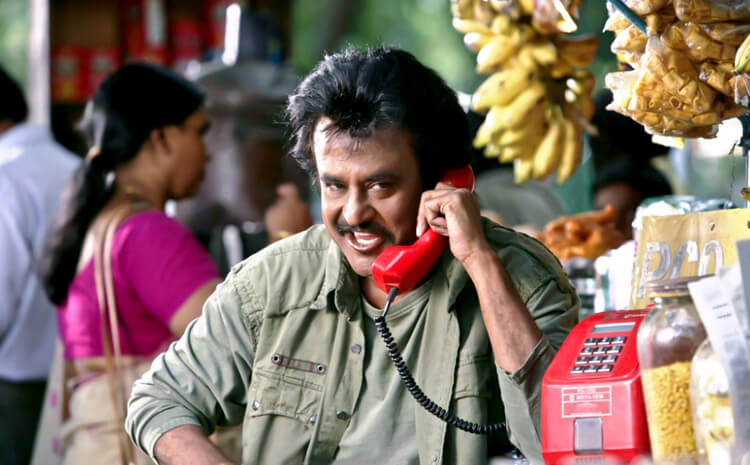 Rajinikanth in Sivaji The Boss