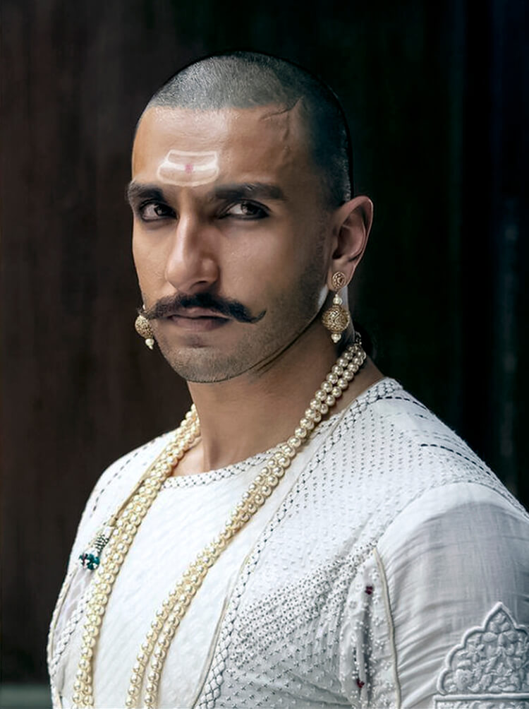 Ranveer Singh's Bajirao Peshwa look in his Facebook DP