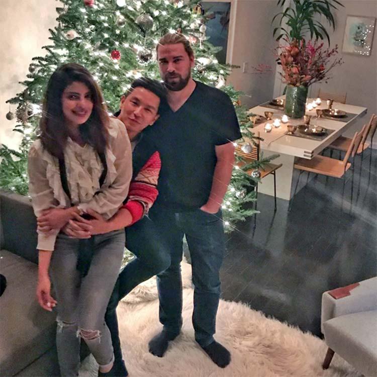 Priyanka Chopra's pre-Christmas celebrations with her friends