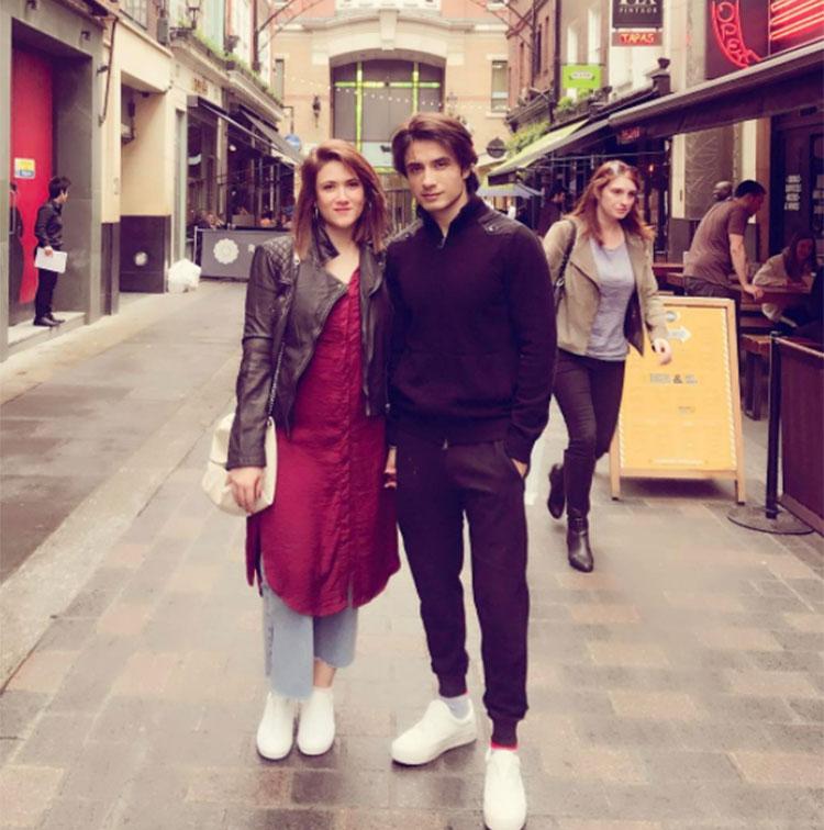 Ali Zafar and Ayesha Fazli in Venice