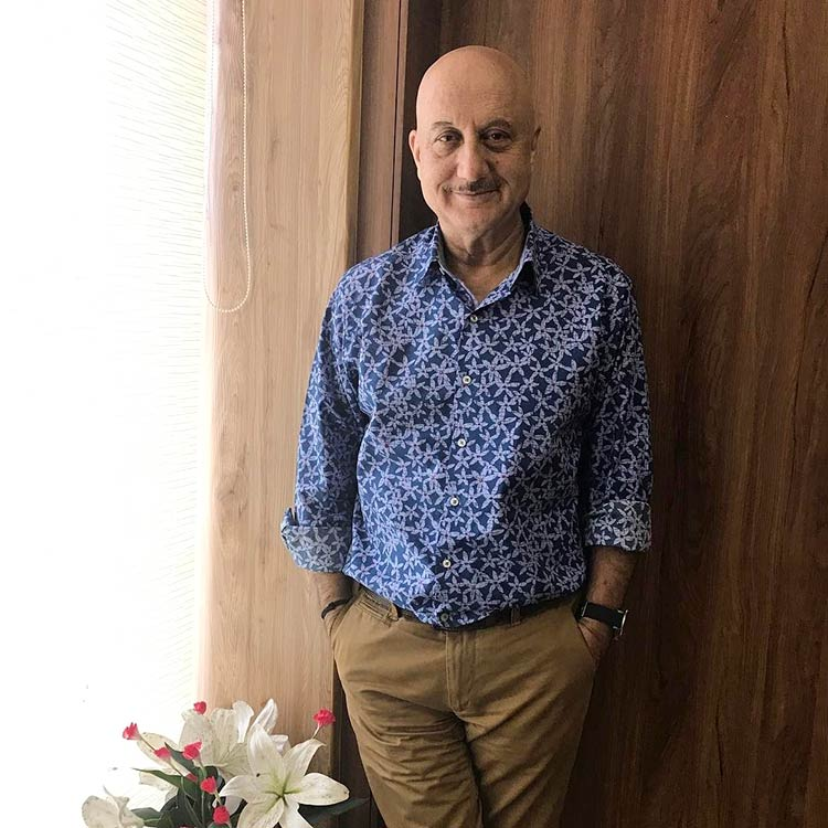Anupam Kher shed oodles of weight