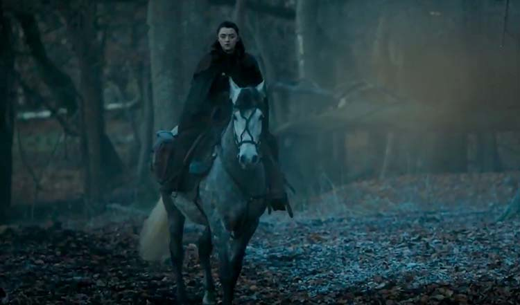 Game of Thrones [2] - Page 9 4Arya-Stark-is-on-hunt-in-Game-of-Thrones-season-7