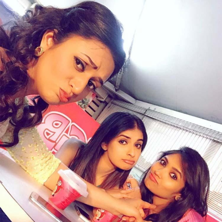 Divyanka Tripathi's selfie with Avantika Hundal and Shruti Bapna
