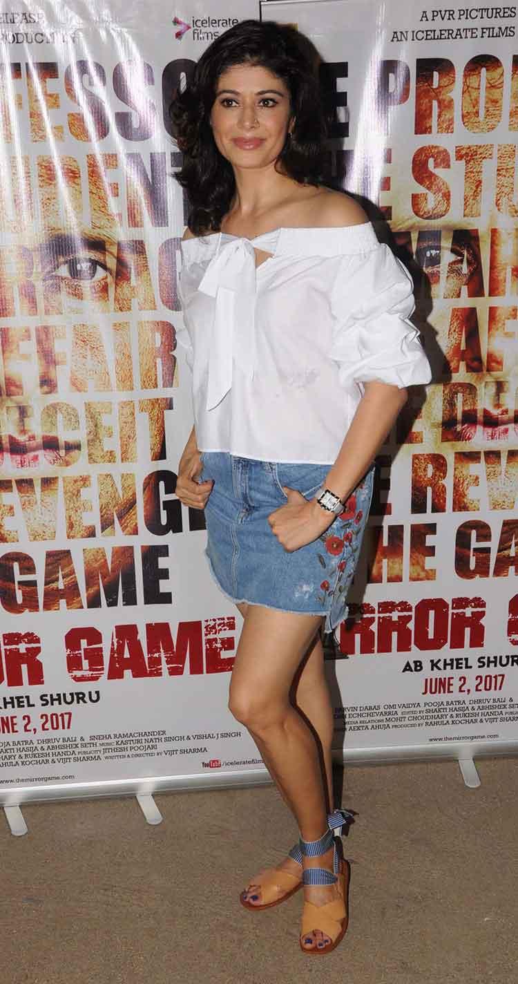Pooja Batra at Mirror Game screening
