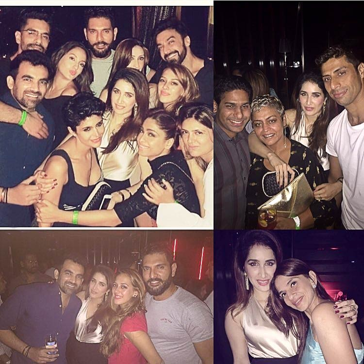 Sagarika Ghatge and Zaheer Khan's fun moments with friends