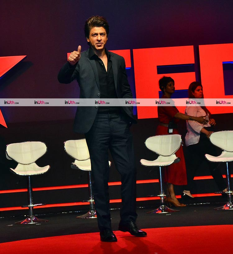 Shah Rukh Khan at the launch of TED Talks India