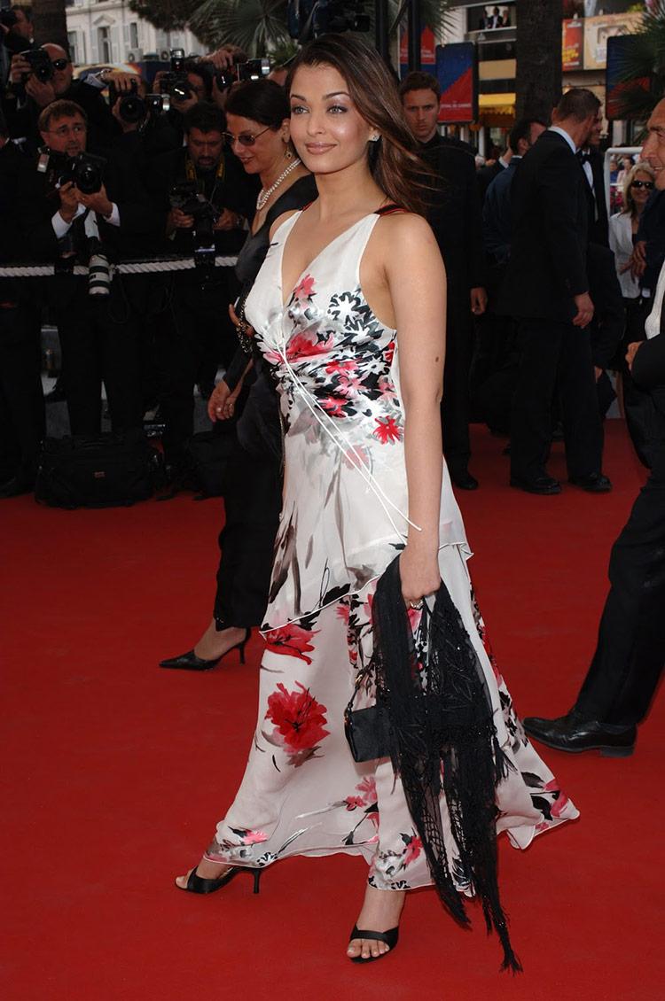Aishwarya Rai at Cannes Film Festival 2005