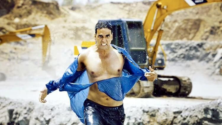 The Boss of action Akshay Kumar
